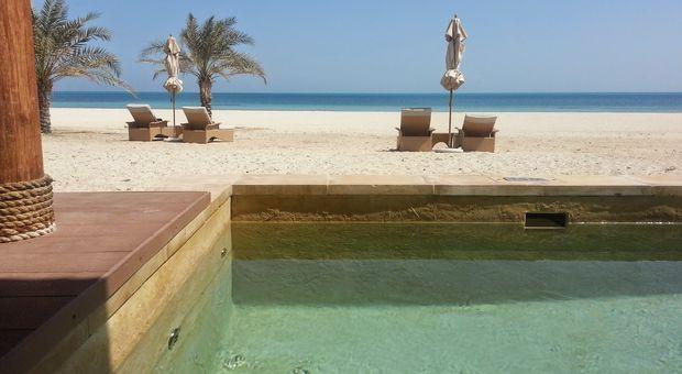 Sir Baniyas Island, en favorit-ö utanför Abu Dhabi
