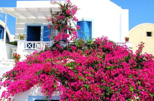 Vackert hem i Oia på Santorini