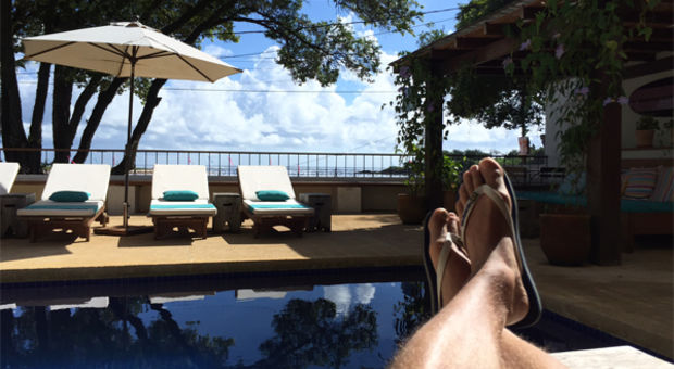 Sköna stunder på Vila Barracuda