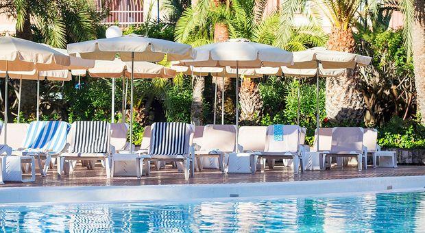 RiuHärliga hotellet Flamingo på Gran Canaria