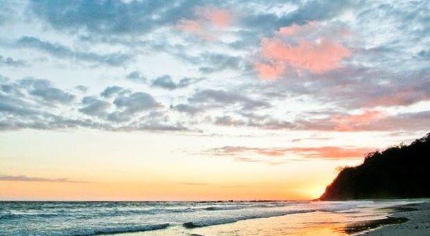 Här är den finaste stranden Hanne varit på