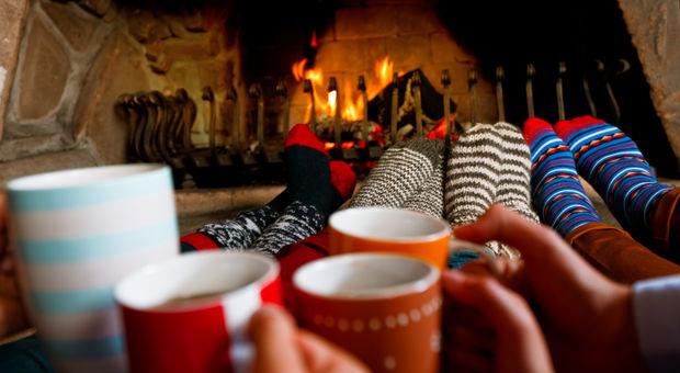 Drick en kaffe med smak av jul