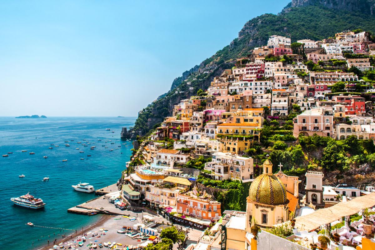 Italiens b sta kustst der reseguiden - La cremaillere cote mer et hotel cote jardin ...