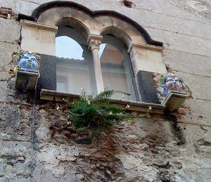 Vacker Dekoration Bilder Taormina Sicilien Italien
