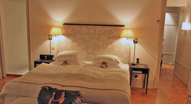 Sköna sängar på Hotel DIplomat