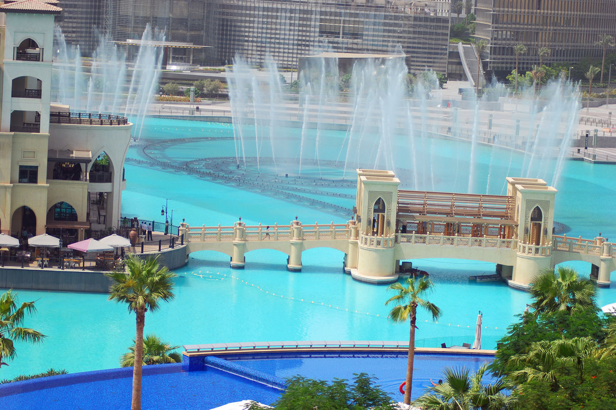 Dubai´s fountain show