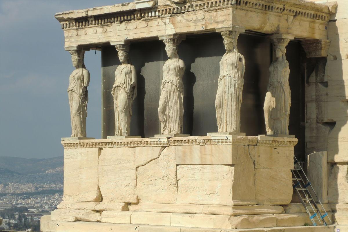 Akropolis med vestalerna