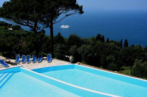 Utsikt från Hotel Caesar Augustus, Capri