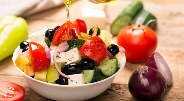 Recept: Grekisk sallad