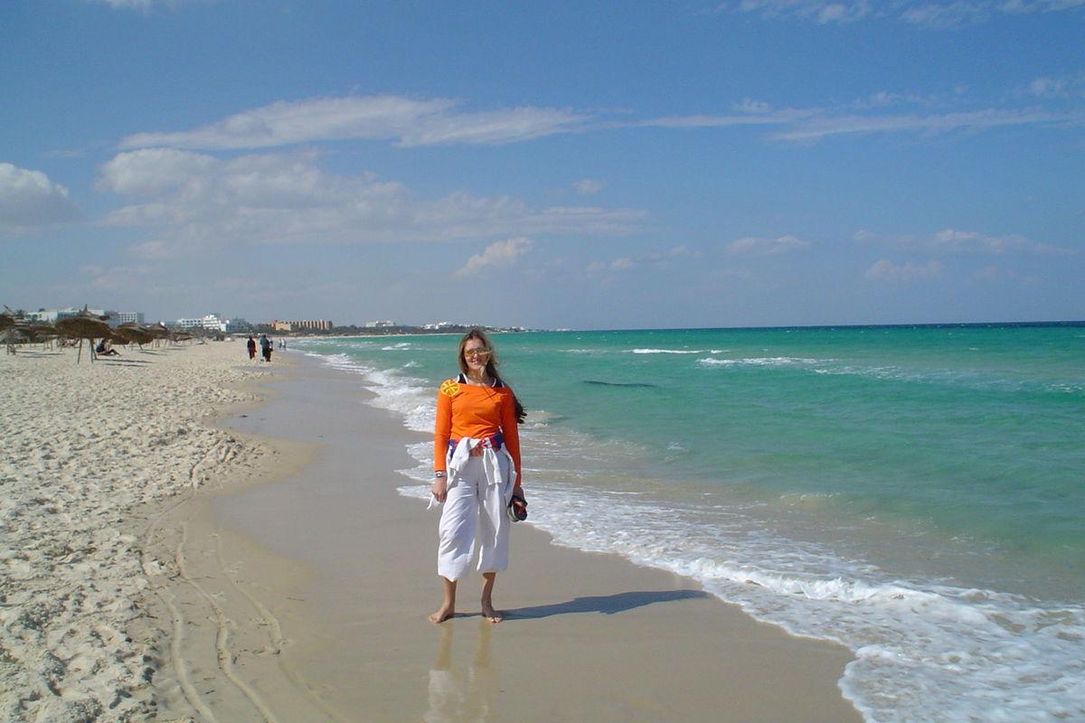 Vackert strand