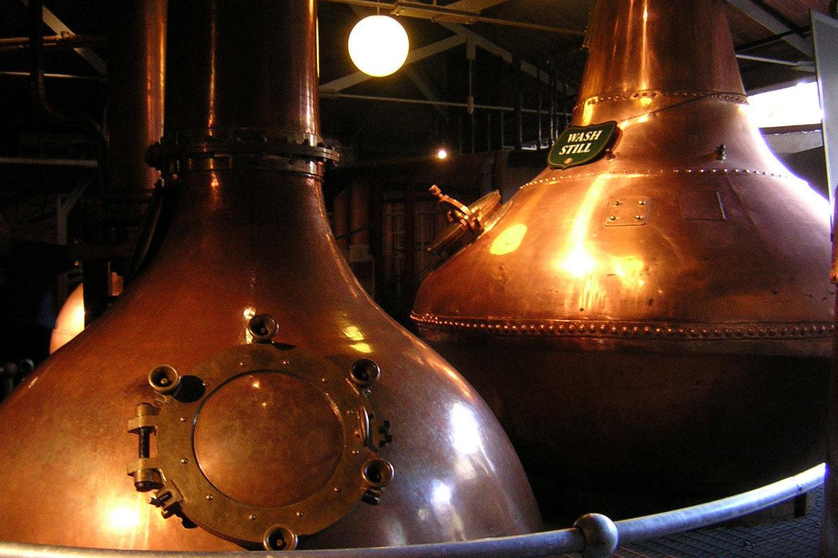 Jameson's Whiskey Distillery