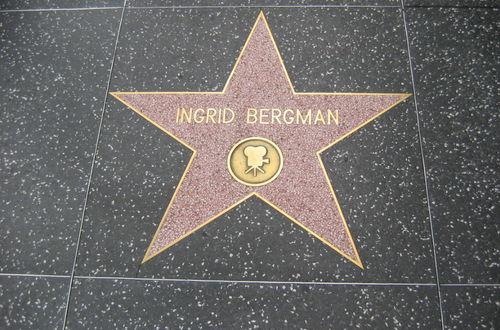 Ingrid Bergman, Walk of Fame