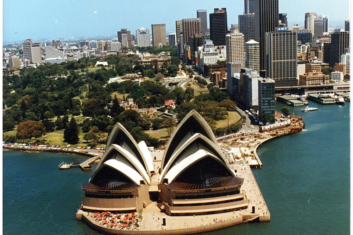 insegling till Sydney