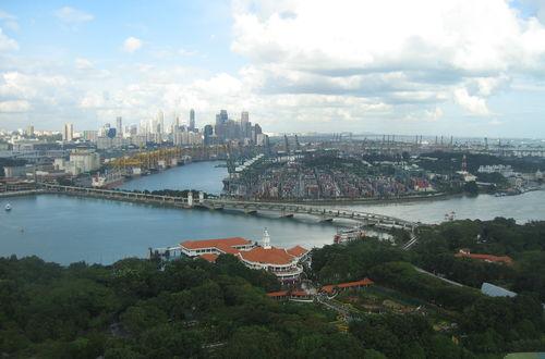 Singapore - världens största hamn