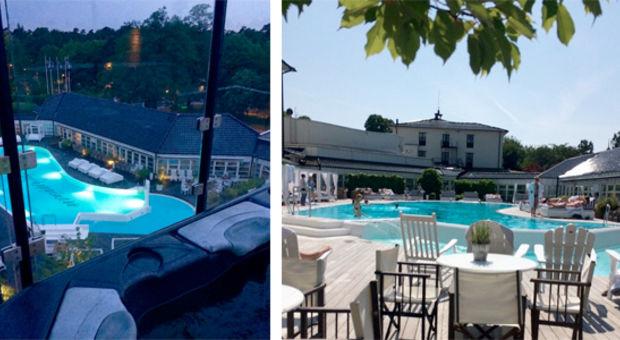 Två sköna bilder från Susanne och Lina som var på YSB i somras