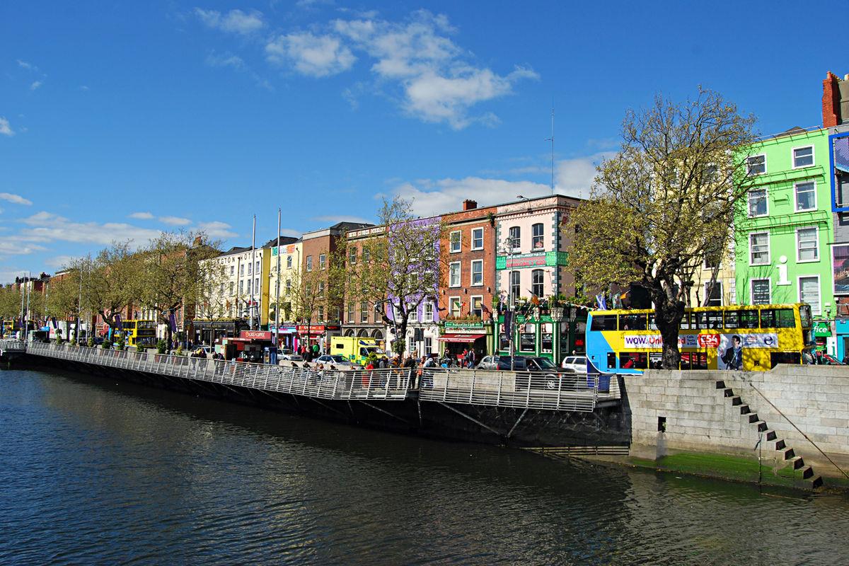 Stadsbild från Dublin