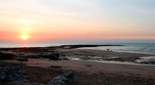 Magisk solnedgång i Darwin.