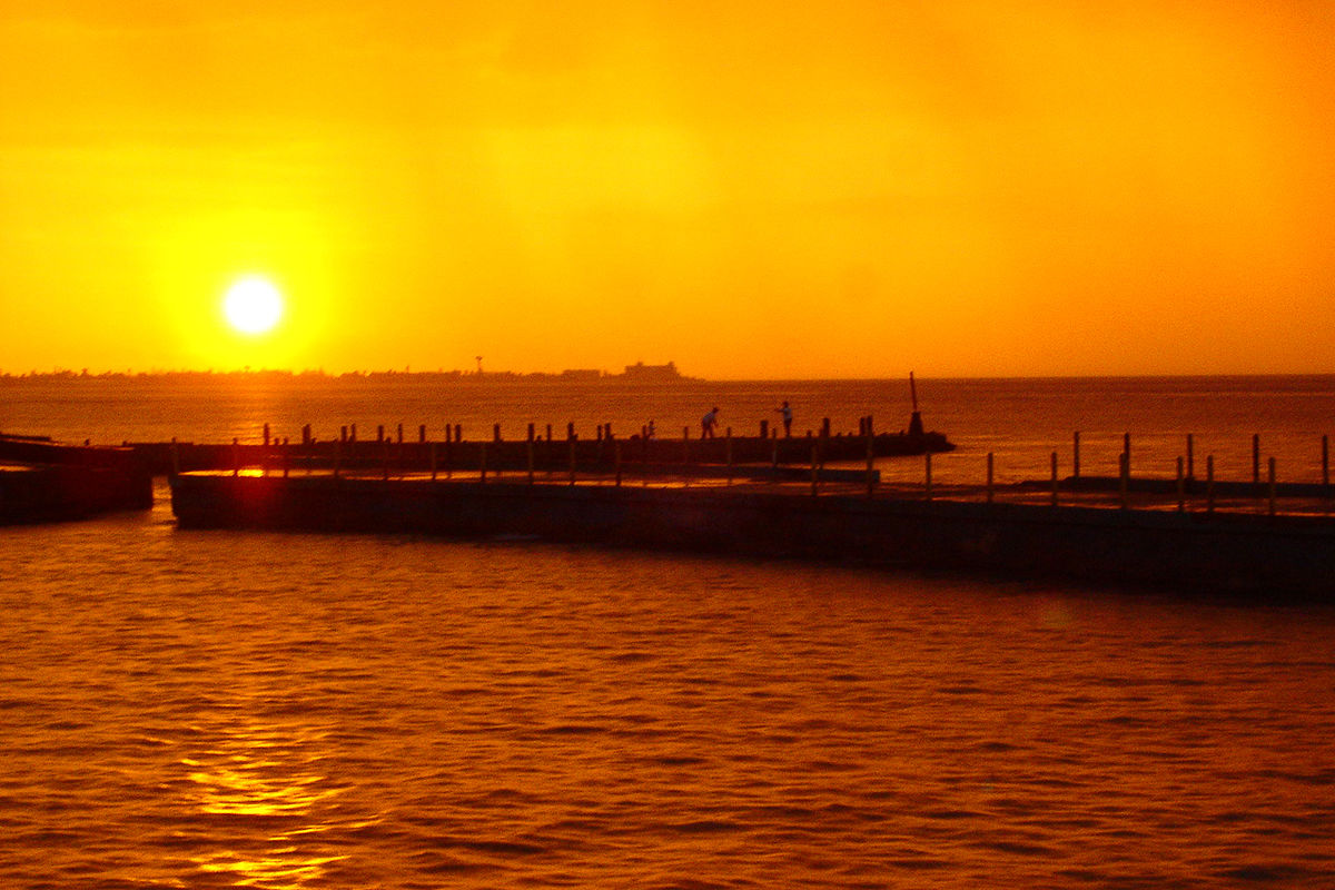 Brinnande solnedgång, favorit i repris nr 2.
