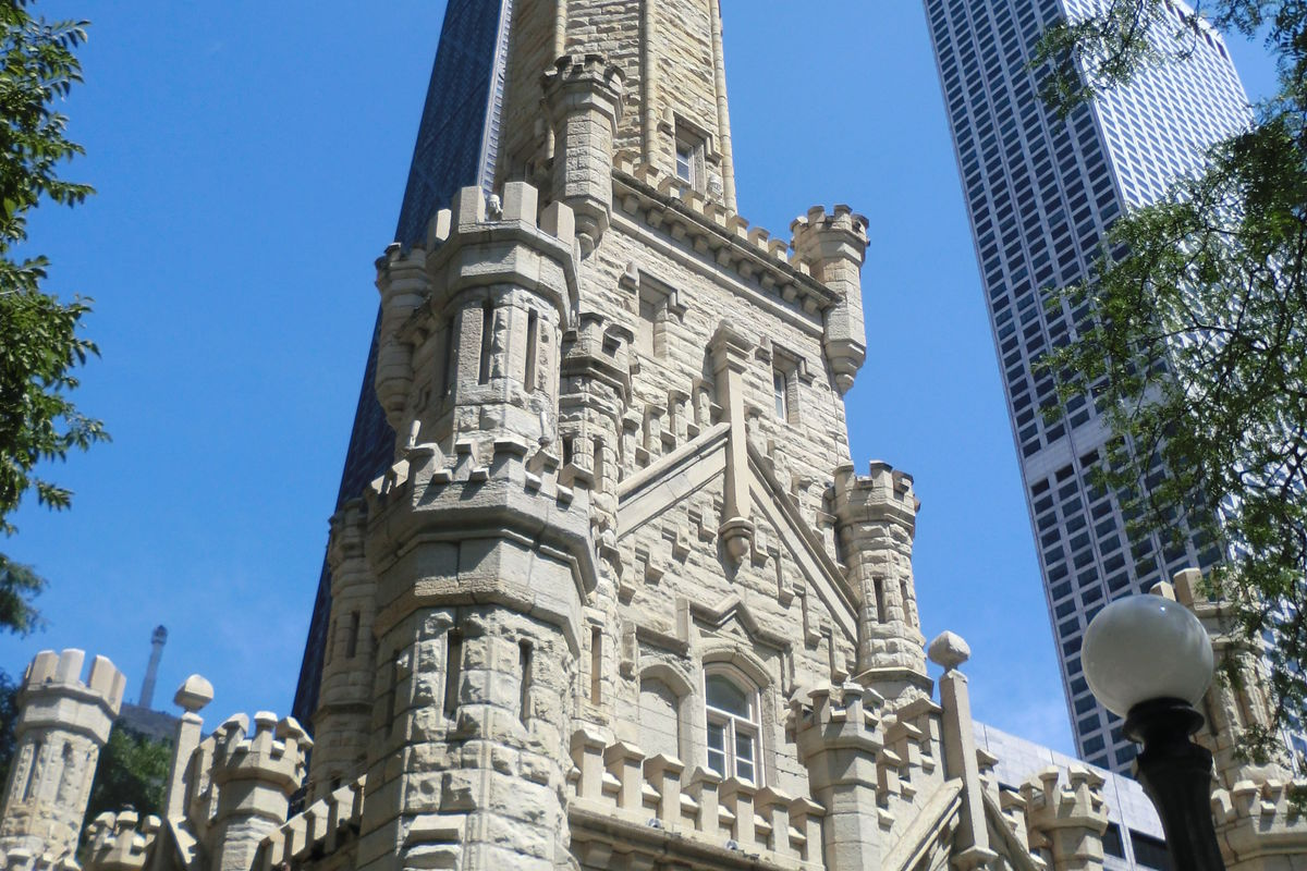 Water Tower på Magnificent Mile