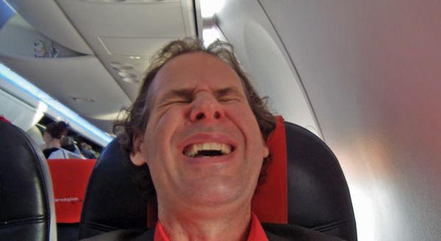 Roberts jobbiga tid under flygningen