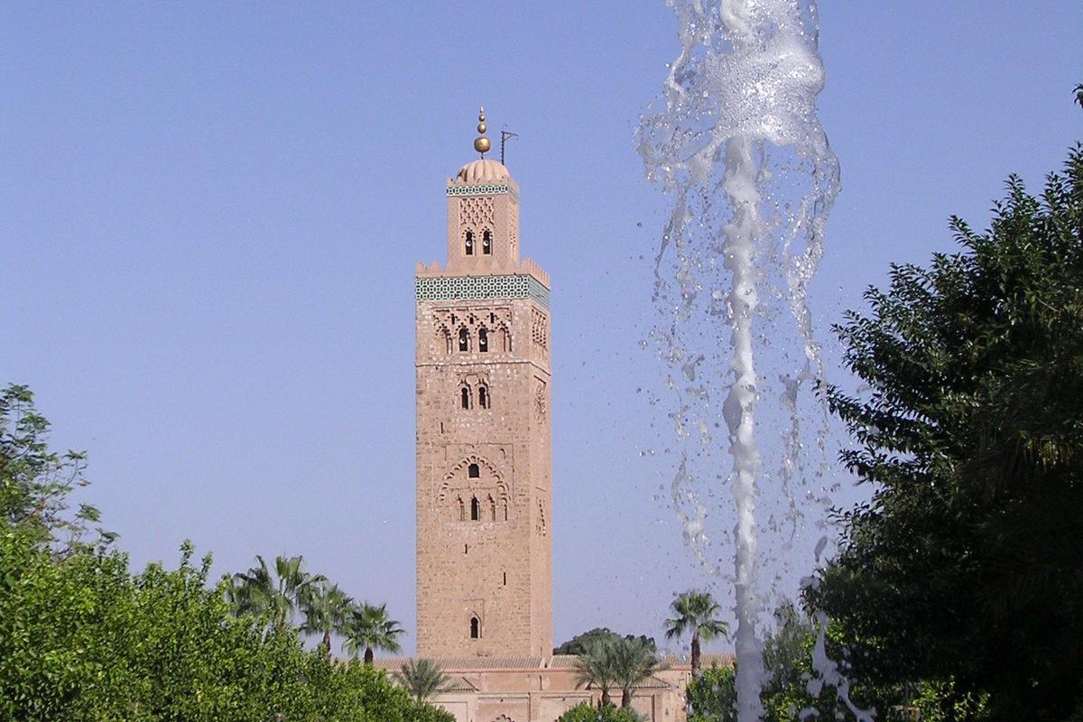 böneutropningstornet i Marrakesh