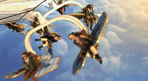 Nya AeroSpin får dig att flyga runt runt..