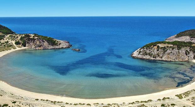 Voidokilia Beach - En av världens vackraste stränder