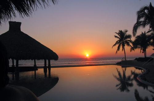 Sunset i Acapulco