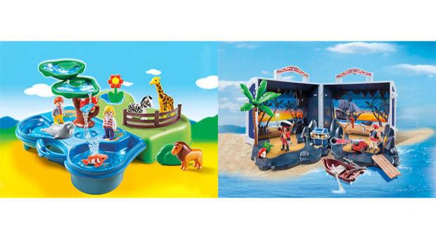 Tävla och vinn roliga leksaker till barnen med Playmobil