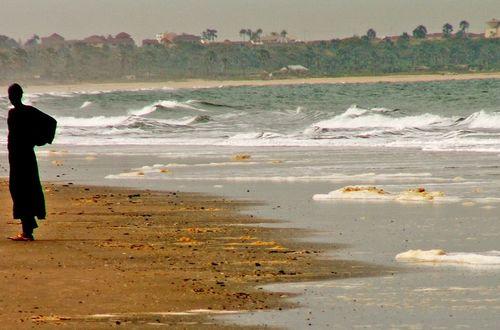 Stranden vid Senegambia Beach
