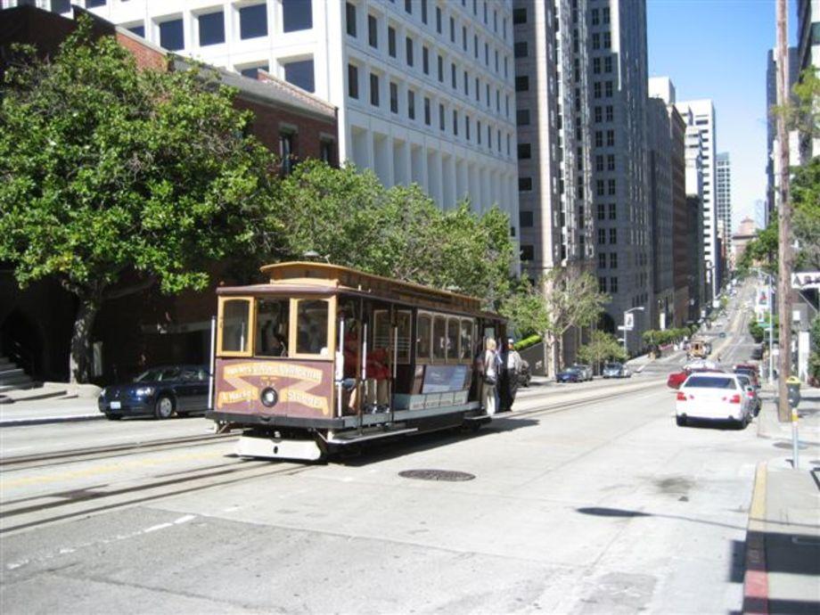 Krok platser i San Francisco