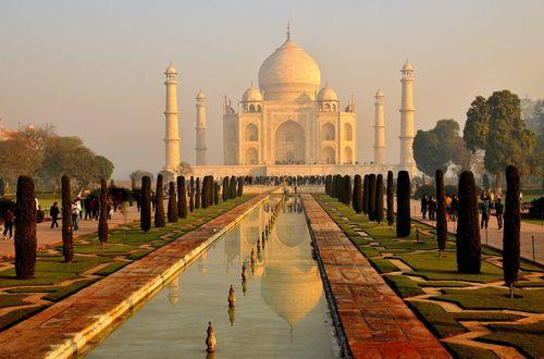 Taj Mahal - tidig morgon