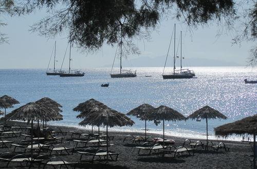 Glittrande Egeiska havet.