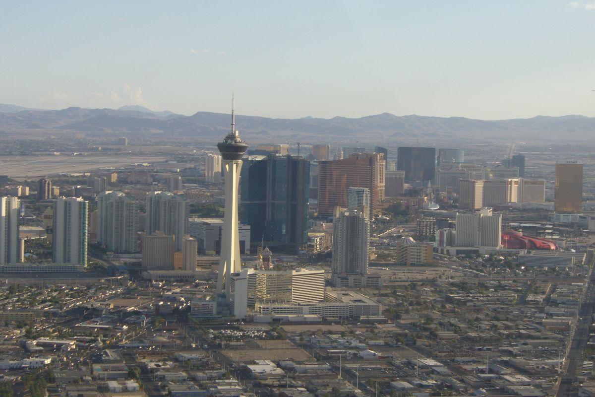 Helikoptertur över Vegas!