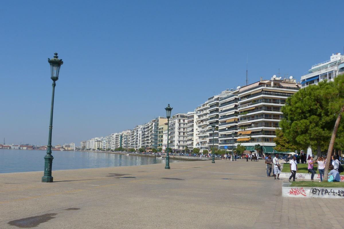Thessaloniki havnepromenade