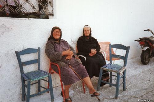Härliga grekiska damer.