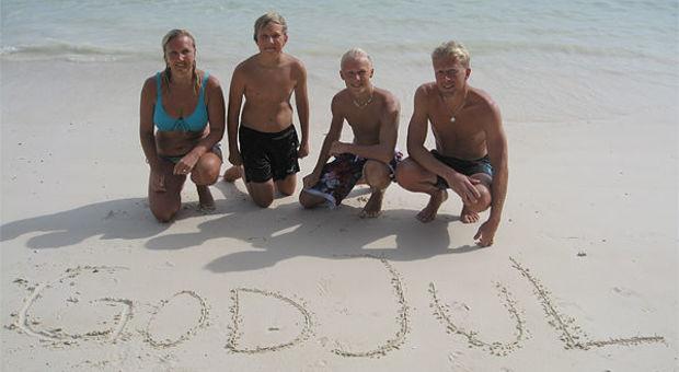 Familjen Löfquist i Thailand