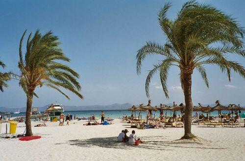 Stranden i Alcudia