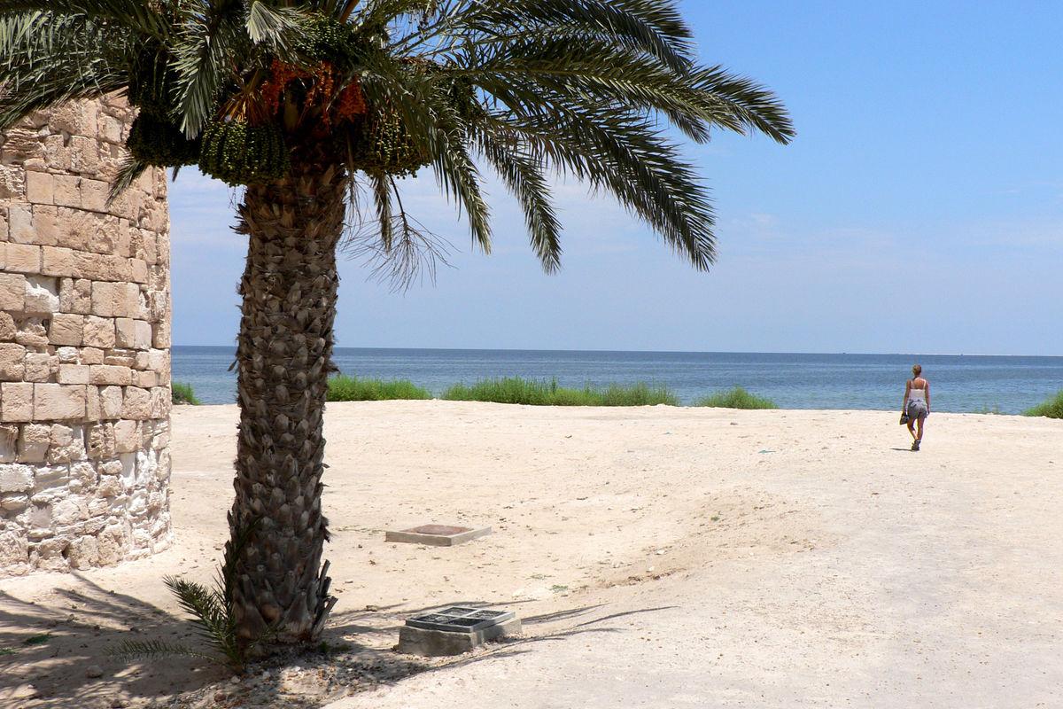 Strand i Houmt Souk