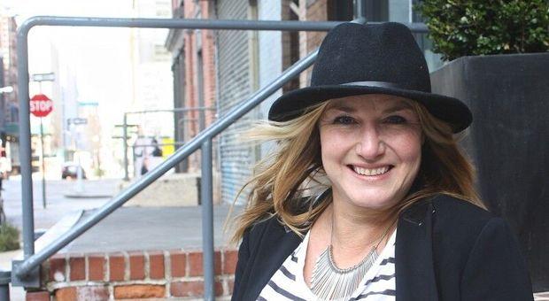 Författaren och NYC-experten Mia Gahne