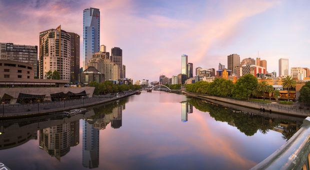 Besök den populära staden Melbourne!