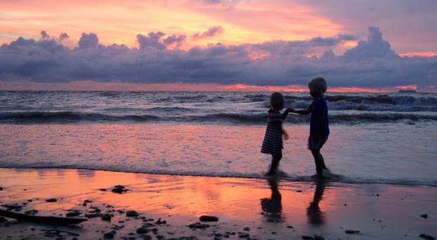 Barnen på Koh Lanta