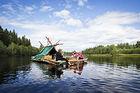 Timmerflotte 4 dygn – ett riktigt äventyr