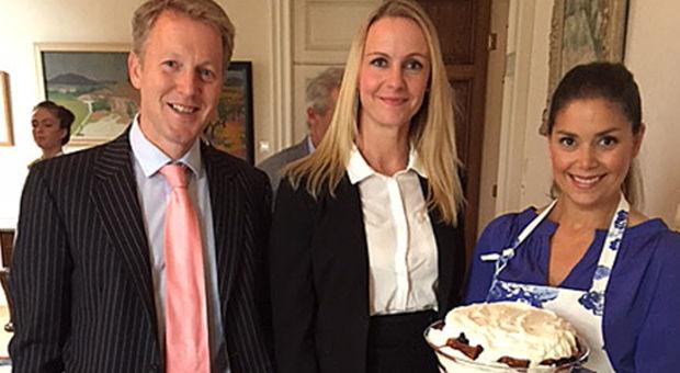 Afternoon Tea på Brittiska Ambassaden
