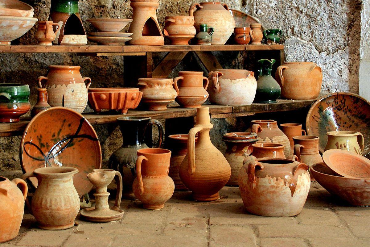 morisk keramik från 1100-1500-talet