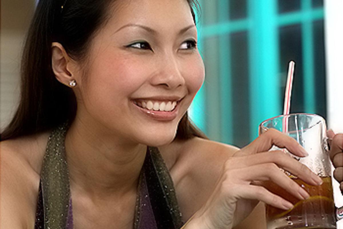 En fika med Miss Singapore