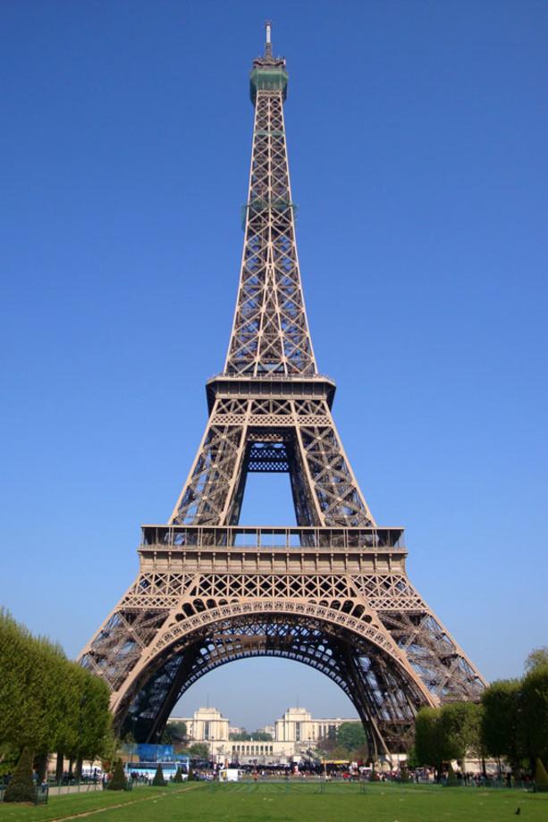 Eiffeltornet - Paris  Frankrike  Europa