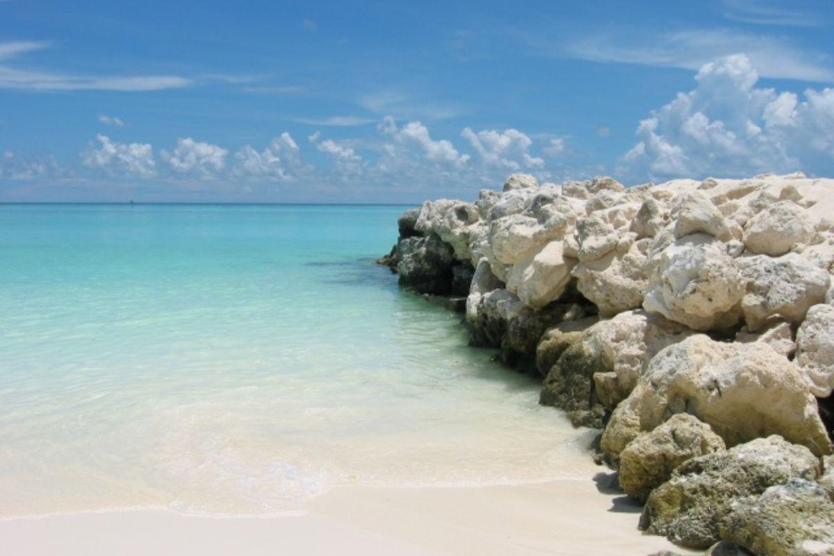 Strand på Maldivene