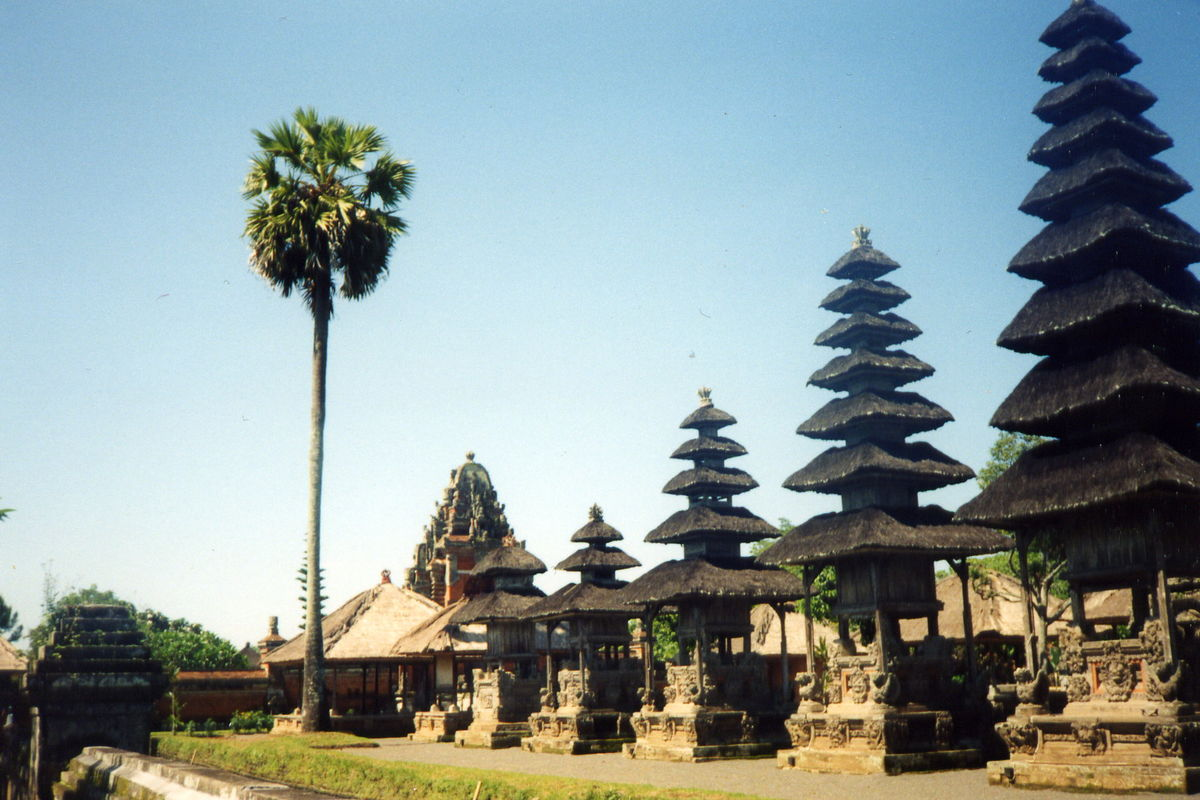 Tempel på Bali