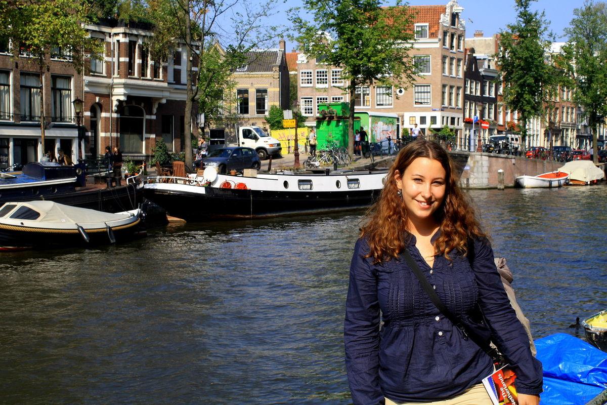 Vid Amsterdams kanaler